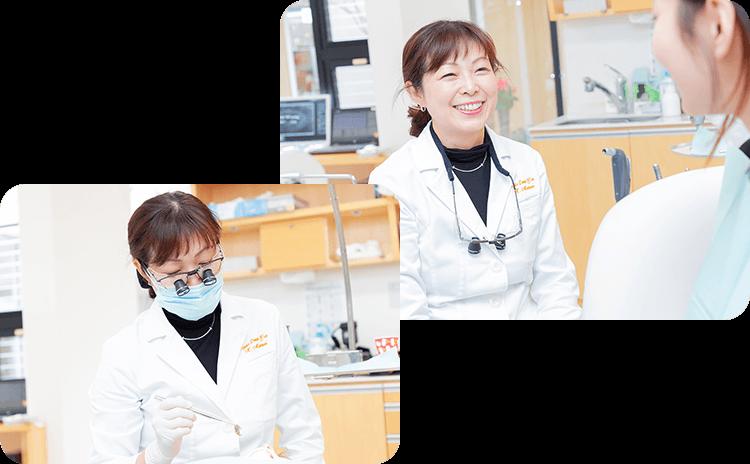 矯正中の虫歯治療も安心